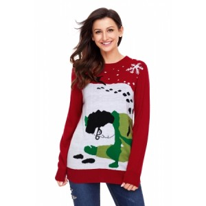 Red Got Run Over By Reindeer Christmas Sweater
