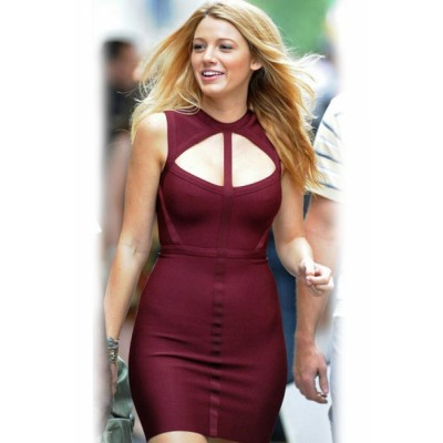 Blake Lively Gossip Girl Cutout Bandage Dress