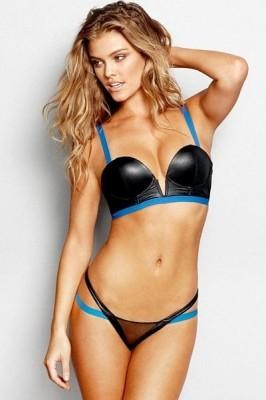 V Cut Bikini with Mesh Insert Bottoms Sexy Swimsuit