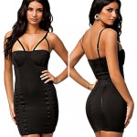 Dear love ™ Women's Wear New Sling Bag Pip Slim Sexy Sleeveless Dress