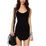 Women's Slim Straps Dress black