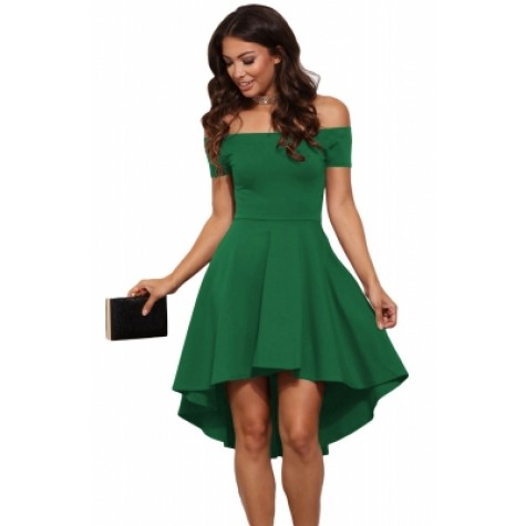 b83ff6b9ad0 All The Rage Skater Dress Green Yellow Red Purple Blue Rosy Black Zoom.  Product ...