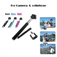 Selfie Stick with extended pole Portable Handheld Self-Portrait Monopod for Camera & Mobilephone