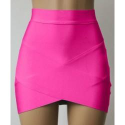 Slim Fit Skinny Trendy Style Bandage Skirt For Women black rose blue white