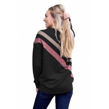 Black Rays Back Pullover Sweatshirt Khaki Gray Red