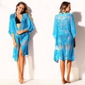 Blue Lace Kimono