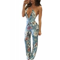 Multi-way Floral Print Jumpsuit