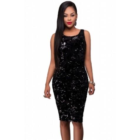 Party Time Dress Black