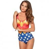 Women's Wonder Woman One-piece Swimsuit