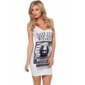 Black&White Sirius Mini Dress