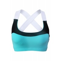 Green Lovable Cross Back Active Yoga Bra