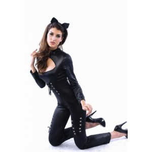 Plus Size Queen of Felines Costume