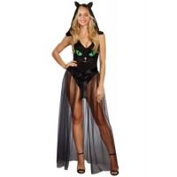 Pretty Kitty Bodysuit Cosplay Costume