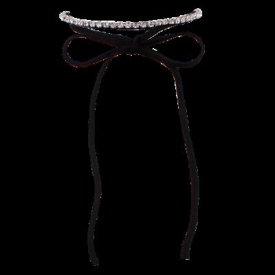 Rhinestone Wrap Choker Necklace