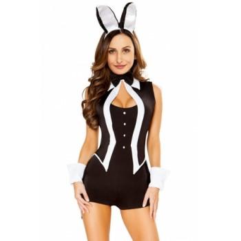 Sexy Tuxedo Bunny Costume