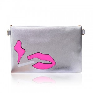 Casual Style Women's Clutch With PU Leather and Color Block Design