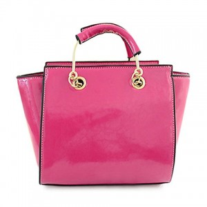 Dress Women's Tote Bag With Solid Color and PU Leather Design