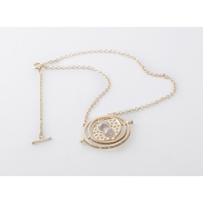 Chic Sand Clock Pendant Alloy Necklace For Women