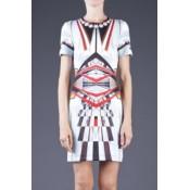 Multicolor Metro Station Cool Print Dress