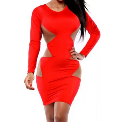 See through Mesh Side Dress