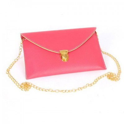 Stylish Women's Clutch With Envolope and Push-Lock Design