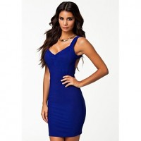 Women's Bare Back Sexy Party Mini Dress