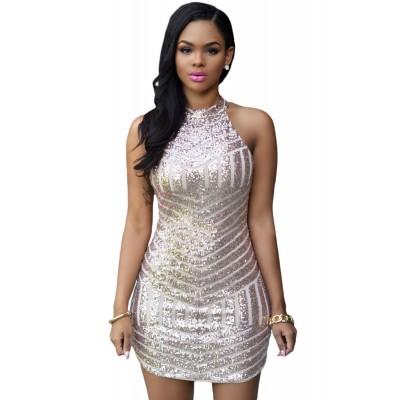 Sexy Sparkling Sequin Tank Dress
