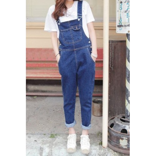 Loose Fit Destroyed Denim Cheap Jeans Overalls Shorts For Women
