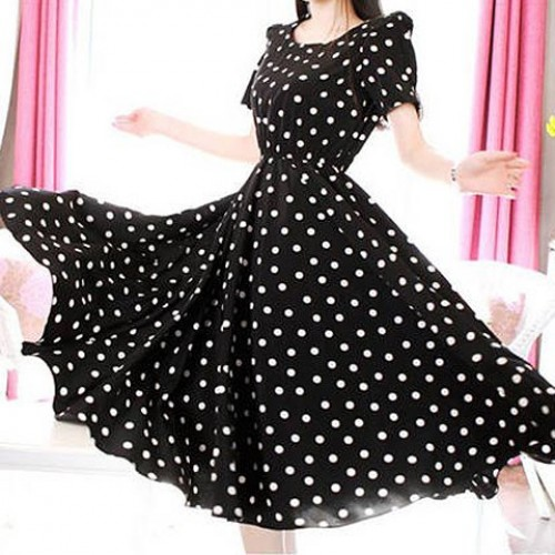 Short Sleeve Casual Dress