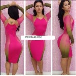 Women Sexy Slim Fit Cocktail Bodycon Bandage Dress Clubwear Evening Dress