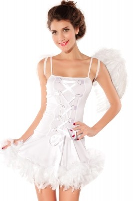 Adult Sexy Angel Costume white