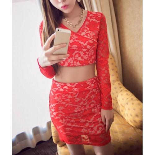 Sexy short blouse
