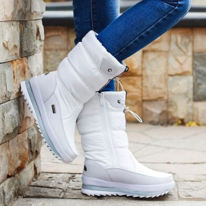 2019 Winter Platform Women Boots Children Rubber anti-slip Snow Boots Shoes for wome Waterproof Warm Winter Shoes Botas