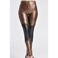 Hot Women's High-Waisted Leopard Print Leggings