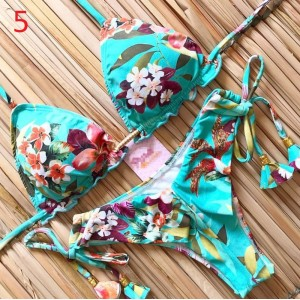 Bikini 2020 Sexy Swimwear Women Push-up Swimsuit Biquini Bathing Suit Beachwear Bandage Swim Beach Wear Brazilian Bikini Set
