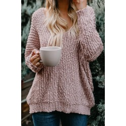 Apricot Warm My Soul Knit Off Shoulder Sweater Red Green Pink