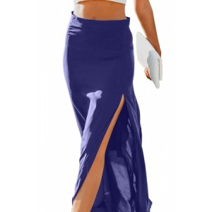 Blue Drop Dead Gorgeous Maxi Skirt