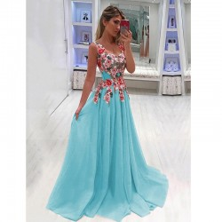 2020 Princess Dress Printed Dress Cross-Border Supply Maxi Dress MI0746