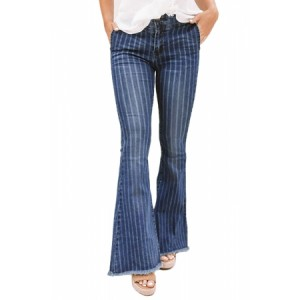 Midrise Flare Legs Jeans