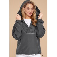 Gray Windbreak Jacket