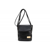 Casual Women's Crossbody Bag With Solid Color and Covered Closure Design