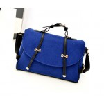 Fashion Women's Crossbody Bag With Buckle and Metallic Design