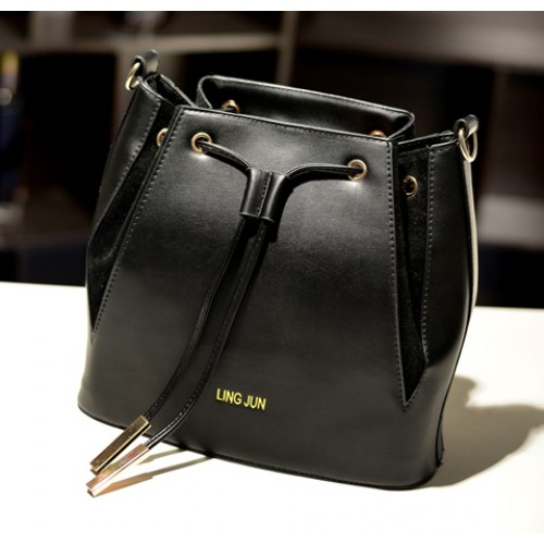 a43284ada3fd Fashion Women s Crossbody Bag With Color Block and String Closure Design  Zoom. Product ...