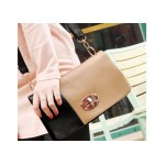 Stylish Casual Women's Shoulder Bag With Candy Color and Splicing Design