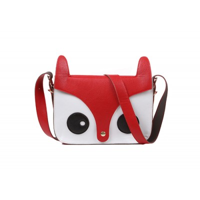 Sweet Style Women's Crossbody Bag With Cute Little Fox Pattern Design