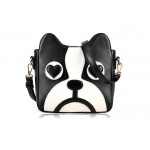Sweet Women's Crossbody Bag With Puppy Pattern and PU Leather Design