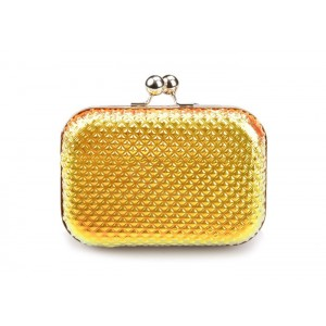 Party Women's Evening Bag With Sequins and Solid Color Design