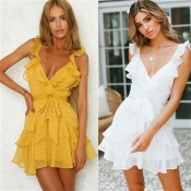 New Fashion Sexy Dress Vestidos Beach Women Maxi Cheap Clothes China De Festa