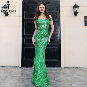 Sexy bra party dress sequin maxi dress Blue Green Gold White