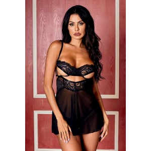 Pleasantly Preoccupied Babydoll Set